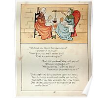 The Glad Year Round for Boys and Girls by Almira George Plympton and Kate Greenaway 1882 0058 News Poster