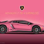 Pink - Aventador LP 750-4 Superveloce 2015 by Davrod