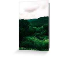 The Few Mountains Texas Has Greeting Card