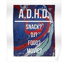 A.D.H.D. Poster