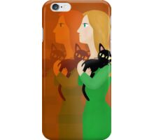 Life with the Cat iPhone Case/Skin