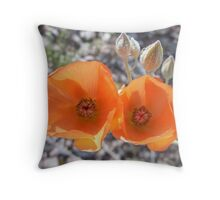Beauty in The Mojave Throw Pillow
