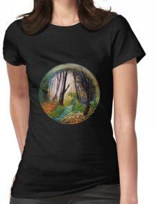 'Spyglass wood -Original design' Womens Fitted T-Shirt