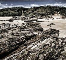 Great Keppel Island Rocks - Australia by DianneWhite