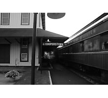 Cooperstown Station Photographic Print