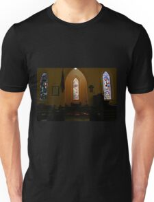 Stained Glass, St Pauls  Unisex T-Shirt