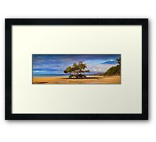 All Alone - Australia Framed Print