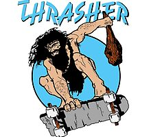 Thrasher // Caveman  by Code-Blue