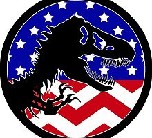 Jurassic Park America Chevron by Seaweed4
