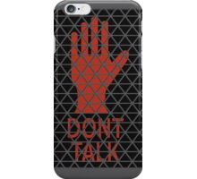 Don't Talk, Listen. iPhone Case/Skin