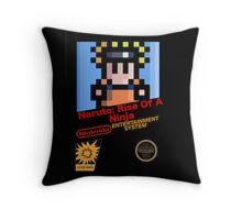 Naruto - NES Cover Throw Pillow