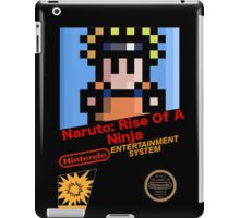 Naruto - NES Cover iPad Case/Skin