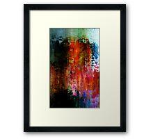 Zeniart abstraction  Framed Print