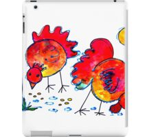 Chickens for children up to 80 years and older... iPad Case/Skin