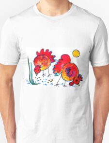 Chickens for children up to 80 years and older... T-Shirt