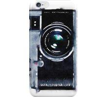 Vintage Camera in Watercolor iPhone Case/Skin