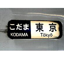 Kodama-Tokyo Photographic Print