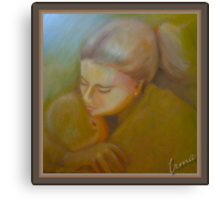 Mother's Love Canvas Print