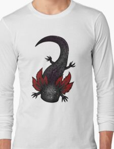 Melanoid Spotted Axolotl Long Sleeve T-Shirt