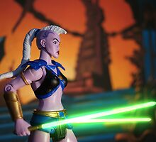 Masters of the Universe Classics - Huntara by GskullWarrior
