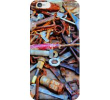 A Rusty Collection. iPhone Case/Skin
