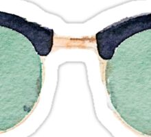 Vintage Wayfarers in Watercolor - Trendy/Summer/Hipster/Tumblr Style Sticker