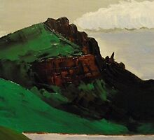 Old Man Of Storr, Isle of Skye, Scotland (Oils) by MagsWilliamson