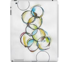 Circle Abstract - Counting To Ten iPad Case/Skin