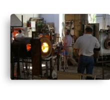 Ornamental Glass making in Malta Canvas Print