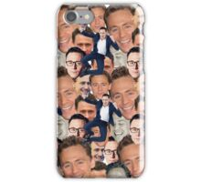 Tom Hiddleston Faces iPhone Case/Skin