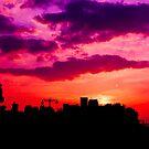 Volcanic Sunset 2 by Lyndy