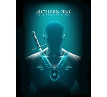 Axtelera Ray - Blue Photographic Print