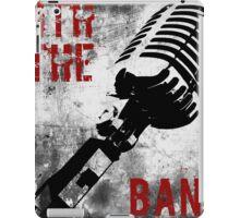 Rock-n-Roll Microphone iPad Case/Skin