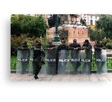 People 2616 (La Paz, Bolivia) Canvas Print
