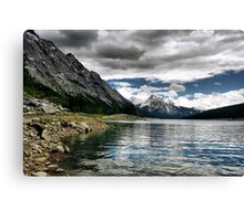 Medicine Lake, Jasper NP Canvas Print