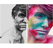 Paint yourself Colourful Photographic Print