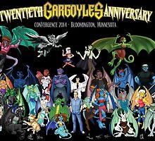 Twentieth Gargoyles Anniversary by Mike Rieger