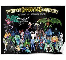Twentieth Gargoyles Anniversary Poster
