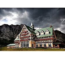 The Prince of Wales Hotel, Waterton Lakes NP Photographic Print