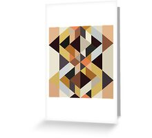 Abstract Pattern No. 5 Greeting Card