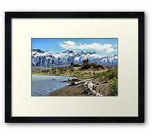Along the Hwy #16 Framed Print