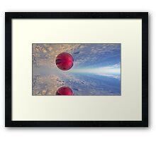 Red Matter  Framed Print