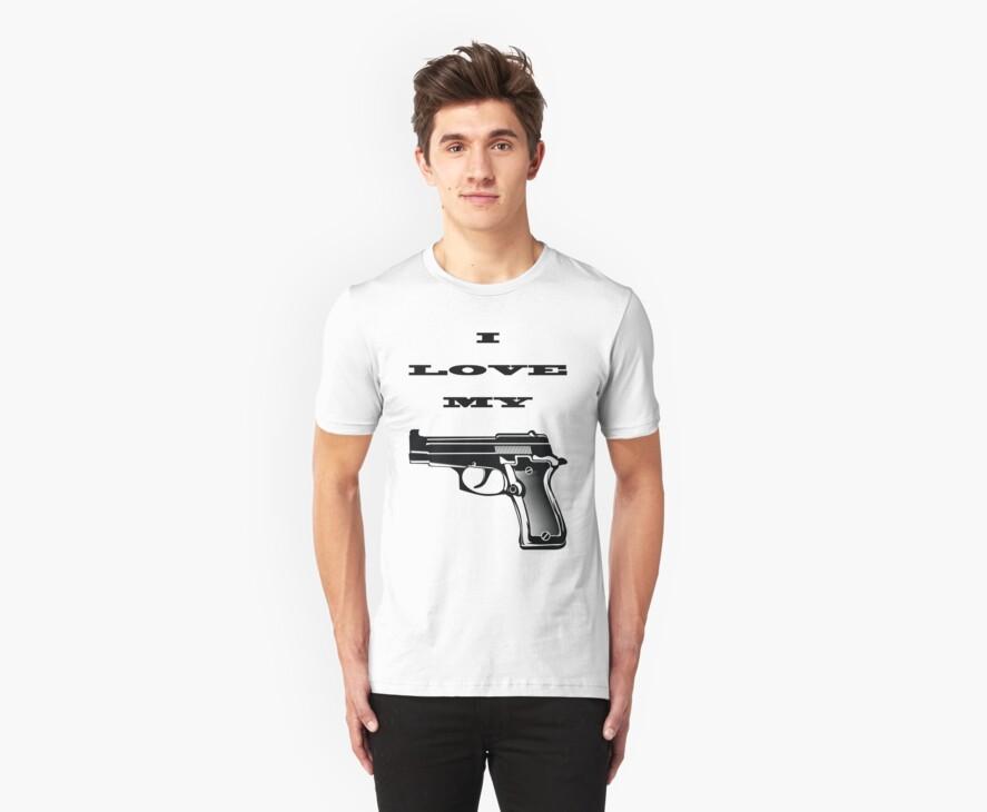 I LOVE MY GUN by zacco