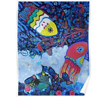 Tapestry Fish Poster