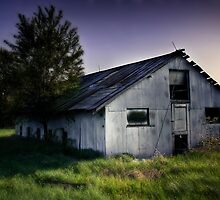 Metal Barn by Steve Leath