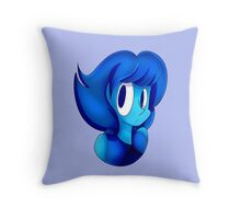 Lapis Bust Throw Pillow
