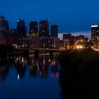 Philadelphia Skyline by StudioEleven