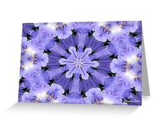 Irises Dance in a Fairy Ring Greeting Card