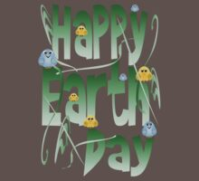 Happy Earth Day with Birds by Lotacats