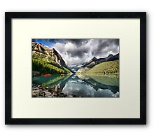 Lake Louise, Banff National Park Framed Print